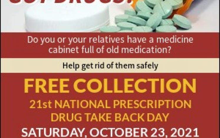 14 local communities taking part in Drug Take Back Day Saturday